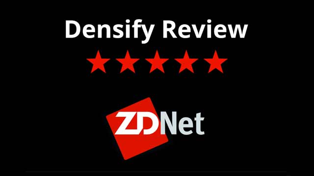 ZDNet gives the Densify Service 9.5/10—a 5-star rating!