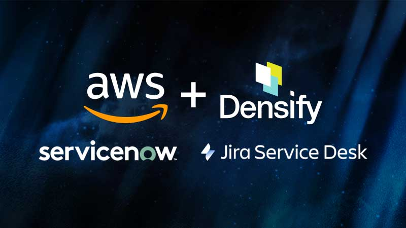 AWS/Densify Solution Demo: ITSM-Controlled Cloud Cost Optimization