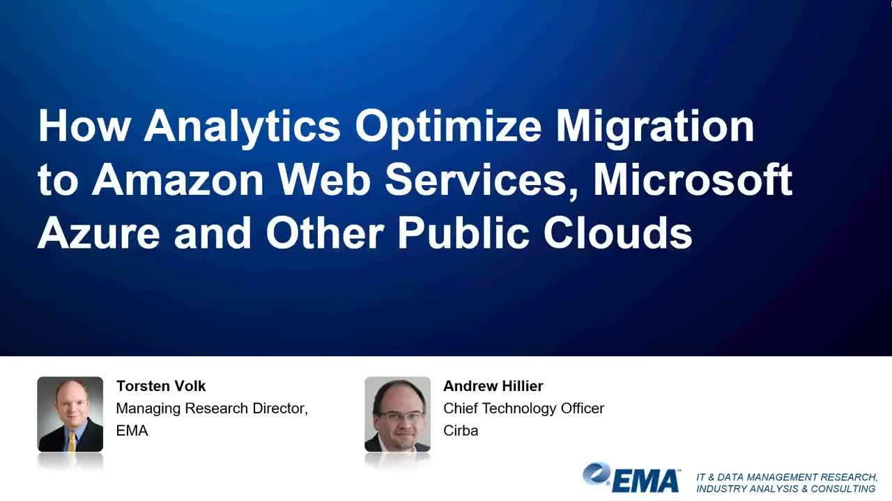 How to Minimize Risk During Migrations to AWS, Azure, & Other Public Clouds